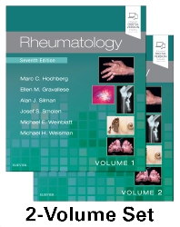 Rheumatology, 2-Volume Set - 7th Edition - ISBN: 9780702068652, 9780702073076