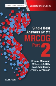 Cover image for Single Best Answers for MRCOG Part 2