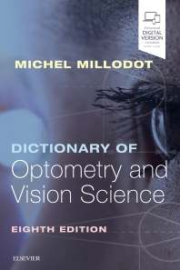 Dictionary of Optometry and Vision Science - 8th Edition - ISBN: 9780702072222, 9780702072239
