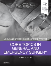 Cover image for Core Topics in General & Emergency Surgery