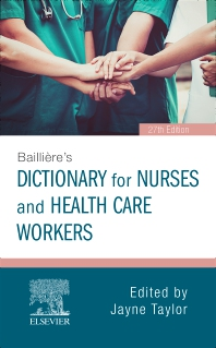 Bailliere's Dictionary - 27th Edition - ISBN: 9780702072796, 9780702075643