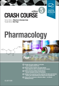 Cover image for Crash Course Pharmacology