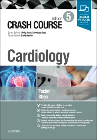 Crash Course Cardiology - 5th Edition - ISBN: 9780702073571, 9780702073588