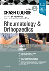 Cover image for Crash Course Rheumatology and Orthopaedics