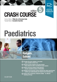 Cover image for Crash Course Paediatrics