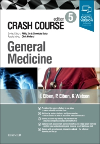 Crash Course General Medicine - 5th Edition - ISBN: 9780702073724, 9780702073731