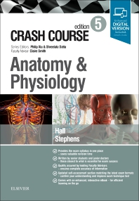 Cover image for Crash Course Anatomy and Physiology