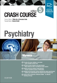 Crash Course Psychiatry - 5th Edition - ISBN: 9780702073830, 9780702073502