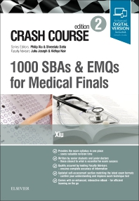 Cover image for Crash Course 1000 SBAs and EMQs for Medical Finals