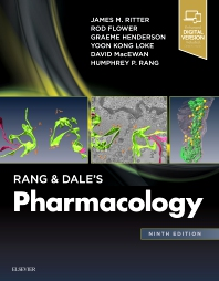 Rang & Dale's Pharmacology - 9th Edition - ISBN: 9780702074479, 9780702074462