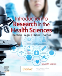 Cover image for Introduction to Research in the Health Sciences