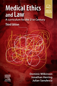 Cover image for Medical Ethics and Law