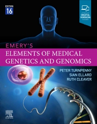 Emery's Elements of Medical Genetics and Genomics - 16th Edition - ISBN: 9780702079665