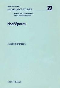 Hopf Spaces - 1st Edition - ISBN: 9780720405538, 9780080871332