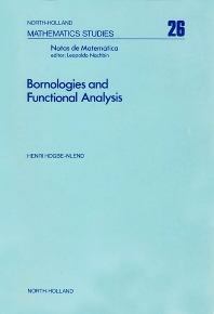 Bornologies and Functional Analysis - 1st Edition - ISBN: 9780720407129, 9780080871370