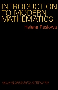 Introduction to Modern Mathematics - 1st Edition - ISBN: 9780720420678, 9781483274720