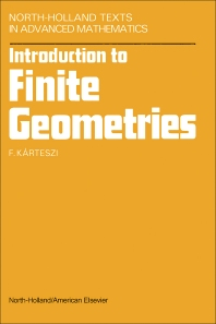 Introduction to Finite Geometries - 1st Edition - ISBN: 9780720428322, 9781483278148