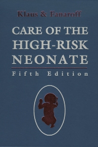 Care of the High-Risk Neonate - 5th Edition - ISBN: 9780721677293