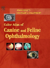 Cover image for Color Atlas of Canine and Feline Ophthalmology
