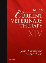 Kirk's Current Veterinary Therapy XIV - 14th Edition - ISBN: 9781437711523