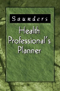 Saunders Health Professional's Planner