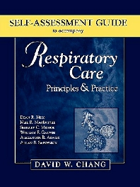 Cover image for Self-Assessment Guide to Accompany Respiratory Care