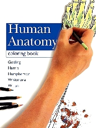 Cover image for Human Anatomy Coloring Book