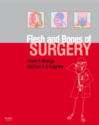 Cover image for The Flesh and Bones of Surgery