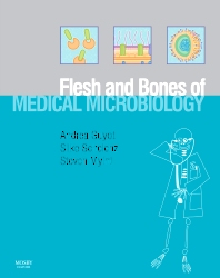 Cover image for The Flesh and Bones of Medical Microbiology