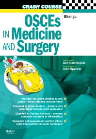 Cover image for Crash Course:  OSCEs in Medicine and Surgery