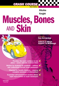 Cover image for Crash Course: Muscles, Bones and Skin