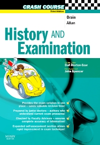Crash Course:  History and Examination - 3rd Edition - ISBN: 9780723434634, 9780723437901