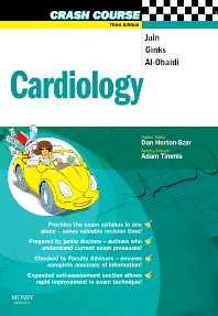 Crash Course:  Cardiology - 3rd Edition - ISBN: 9780723434641, 9780723437291