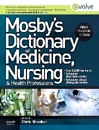 Mosby's Dictionary of Medicine, Nursing and Health Professions UK Edition - 1st Edition - ISBN: 9780723435044
