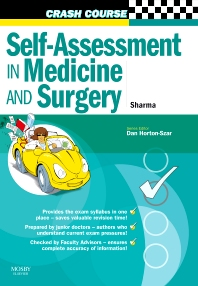 Cover image for Crash Course:  Self-Assessment in Medicine and  Surgery