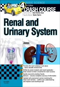 Cover image for Crash Course Renal and Urinary System