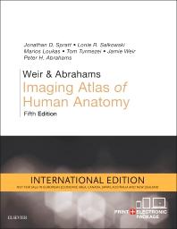 WEIR & ABRAHAMS IMAGING ATLAS OF HUMAN ANATOMY 5/E2017 PB