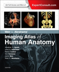Cover image for Weir & Abrahams' Imaging Atlas of Human Anatomy