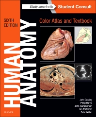 Cover image for Human Anatomy, Color Atlas and Textbook