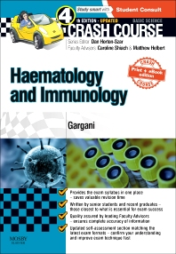 Cover image for Crash Course Haematology and Immunology: Updated Print + eBook edition