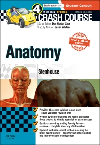 Cover image for Crash Course Anatomy Updated Print + eBook edition