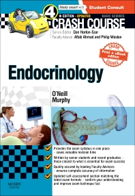 Cover image for Crash Course Endocrinology: Updated Print + E-book Edition