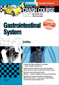 Cover image for Crash Course Gastrointestinal System Updated Print + eBook edition