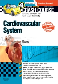 Cover image for Crash Course Cardiovascular System Updated Print + E-Book Edition