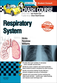 Cover image for Crash Course Respiratory System Updated Print + eBook edition