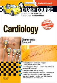 Cover image for Crash Course Cardiology Updated Print + eBook edition