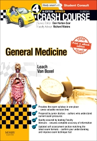Cover image for Crash Course General Medicine Updated Print + eBook edition
