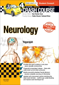 Cover image for Crash Course Neurology Updated Print + eBook edition