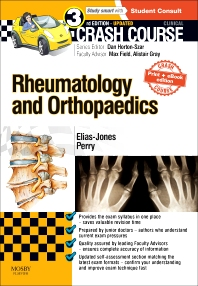 Cover image for Crash Course Rheumatology and Orthopaedics Updated Print + eBook edition