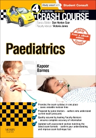 Cover image for Crash Course Paediatrics Updated Print + eBook edition